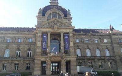 Visite des CM2 B au Palais du Rhin