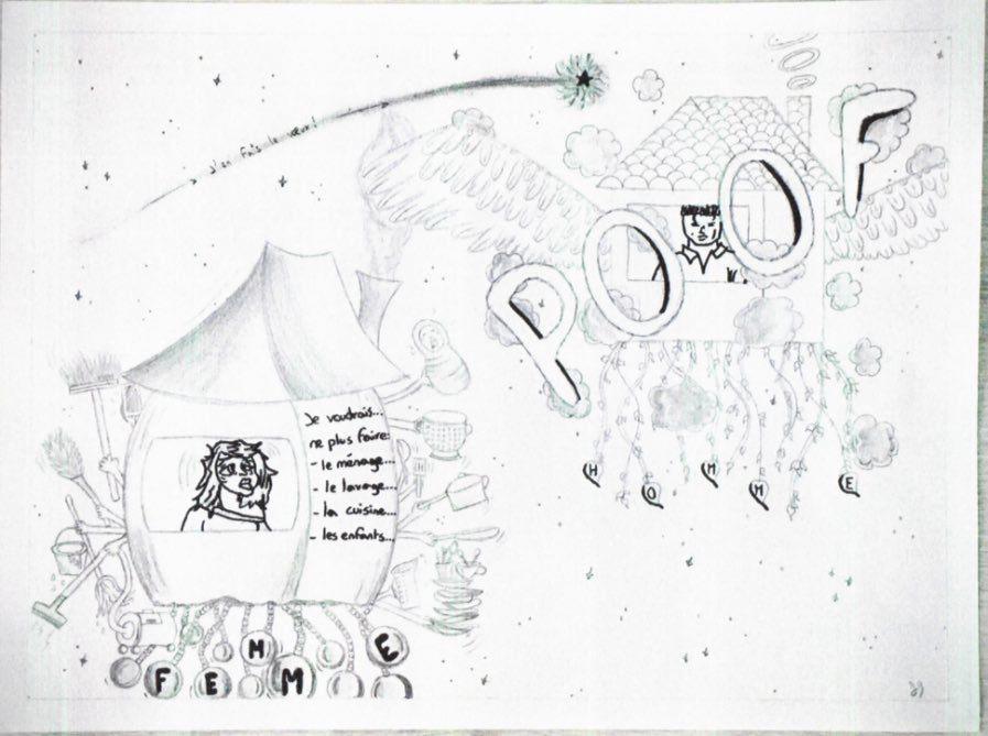 Concours de caricature en 3ème5