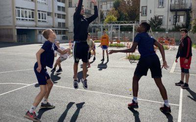 Après-midi basket