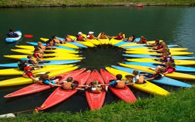 Ouverture de la section sportive canoë-kayak !