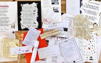 L'exposition des poèmes engagés des 3e4, 3e1 et 3e3 est en place !