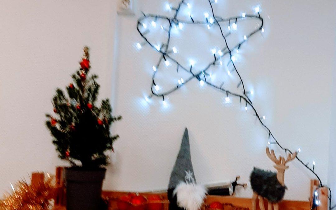 Décoration des salles de Noël